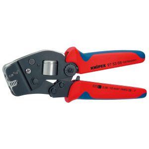 Инструмент для опрессовки контактных гильз самонастраивающийся с торцевой установкой KNIPEX 97 53 08