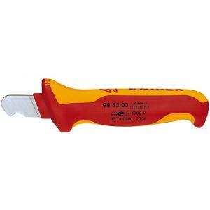 Нож для снятия изоляции KNIPEX 98 53 03