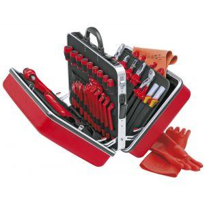 Чемодан универсальный BIG TWIN с инструментами электоизолированными 46 предметов KNIPEX 98 99 14