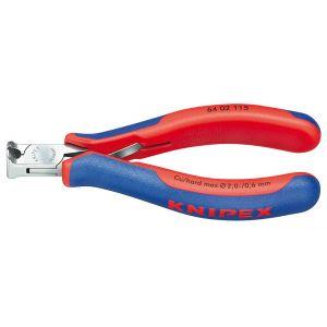Кусачки торцевые для электроники  KNIPEX 64 02 115