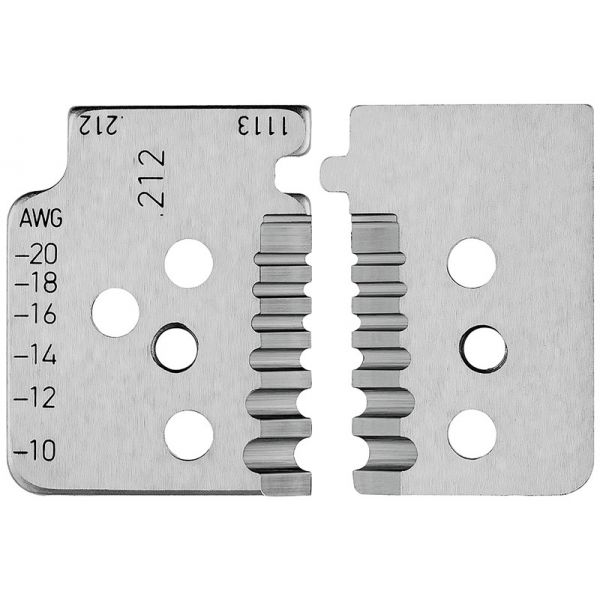 1 пара запасных ножей для 12 12 13 KNIPEX 12 19 13