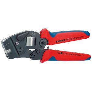 Инструмент для опрессовки контактных гильз самонастраивающийся с торцевой установкой KNIPEX 97 53 09
