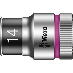 """8790 HMC HF Торцевая головка 14 мм для ключа-трещотки Zyklop c 1/2"""" с функцией фиксации WERA 003734"""