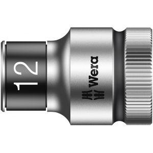 """8790 HMC HF Торцевая головка 12 мм для ключа-трещотки Zyklop c 1/2"""" с функцией фиксации WERA 003732"""
