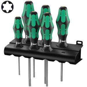 Набор отверток WERA Kraftform Plus 367/6 TORX® HF с фиксирующей функцией 028059