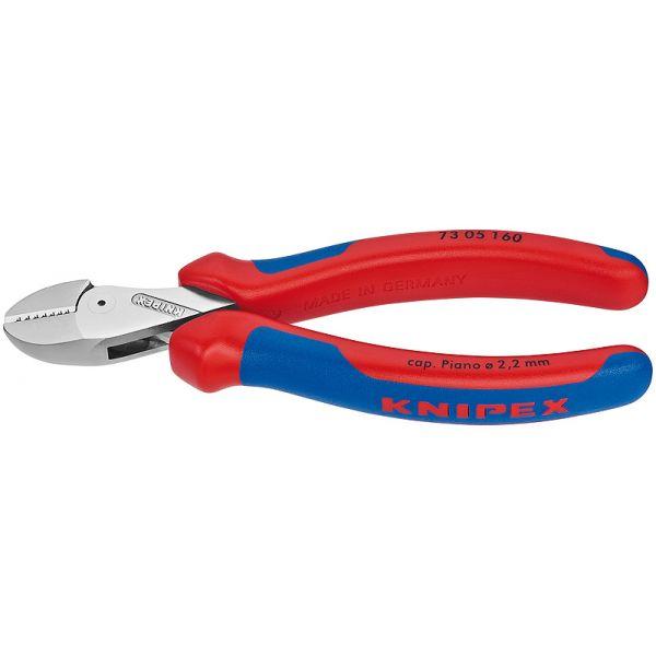 Компактные кусачки боковые X-Cut KNIPEX 73 05 160