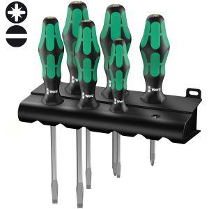 Набор отверток WERA Kraftform Plus Lasertip 334/355 SK/6 007681