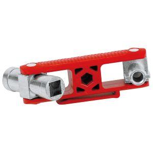 Универсальный ключ для распространенных шкафов и систем запирания KNIPEX 00 11 06 V02