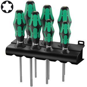 Набор отверток WERA Kraftform Plus 367/7 TORX® HF с фиксирующей функцией 223161