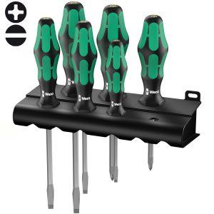 Набор отверток WERA Kraftform Plus Lasertip 334 SK/6 Rack 007680
