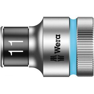 """8790 HMC HF Торцевая головка 11 мм для ключа-трещотки Zyklop c 1/2"""" с функцией фиксации WERA 003731"""