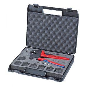 Инструмент для опрессовки системный, для сменных опрессовочных плашек KNIPEX 97 43 200