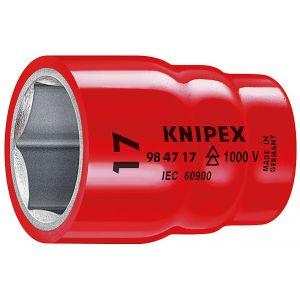 Сменные головки к торцевому ключу для винтов с шестигранной головкой KNIPEX 98 47 11