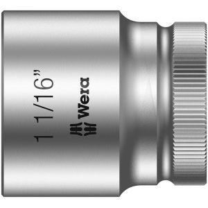 "8790 HMC  Торцевая головка Zyklop c 1/2"", 1 1/16""х40 мм WERA 003632"